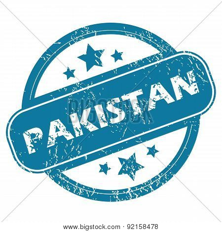 PAKISTAN round stamp