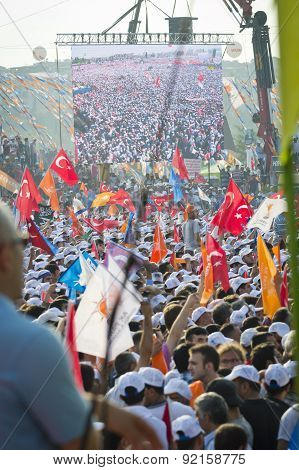 Respect To National Will - Rally In Istanbul