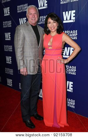LOS ANGELES - MAY 28:  Jim Carroll, Elizabeth Carroll at the WE tv's
