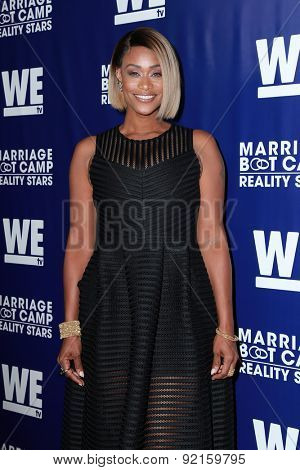 LOS ANGELES - MAY 28:  Tami Roman at the WE tv's