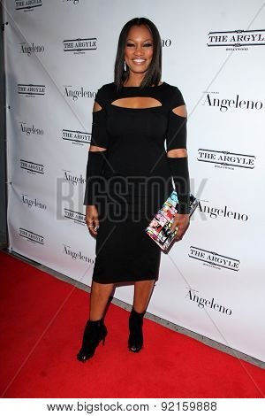 LOS ANGELES - MAY 31:  Garcelle Beauvais at the Angeleno Magazine  June 2015 Issue Party with Cover Man Adrian Grenier at the The Argyle on May 31, 2015 in Los Angeles, CA
