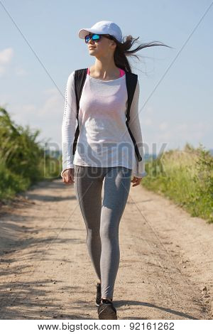 Walking Is The Most Natural Exercise.