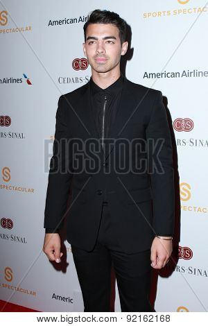 LOS ANGELES - MAY 31:  Joe Jonas at the 2015 Sports Spectacular Gala at the Century Plaza Hotel on May 31, 2015 in Century City, CA