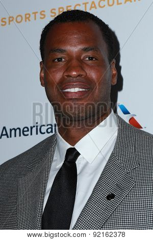 LOS ANGELES - MAY 31:  Jason Collins at the 2015 Sports Spectacular Gala at the Century Plaza Hotel on May 31, 2015 in Century City, CA
