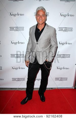 LOS ANGELES - MAY 31:  Greg Louganis at the Angeleno Magazine  June 2015 Issue Party with Cover Man Adrian Grenier at the The Argyle on May 31, 2015 in Los Angeles, CA