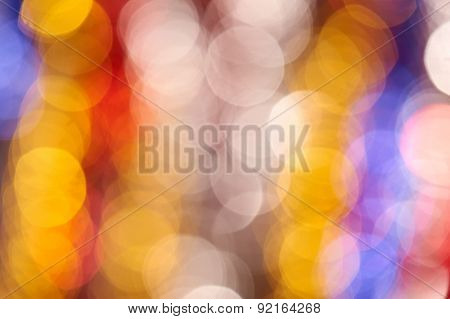 colorful holiday bokeh photo as background