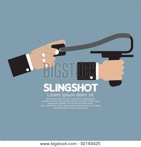 Slingshot In Hand.