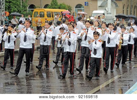 Marching Band Of Youth Students