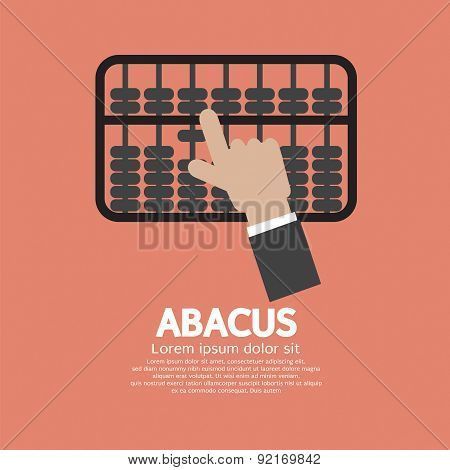 Abacus A Traditional Counting Frame.