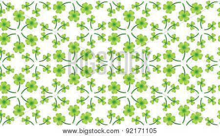 Abstract St. Patrick's day pattern