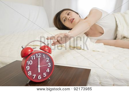 Turning Off Alarm Clock