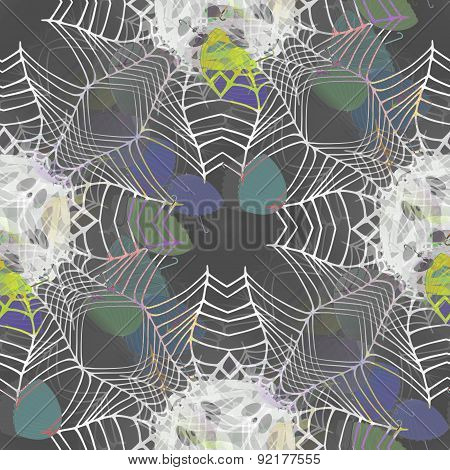 Funky Seamless Background Or Texture With Umbrellas Motif