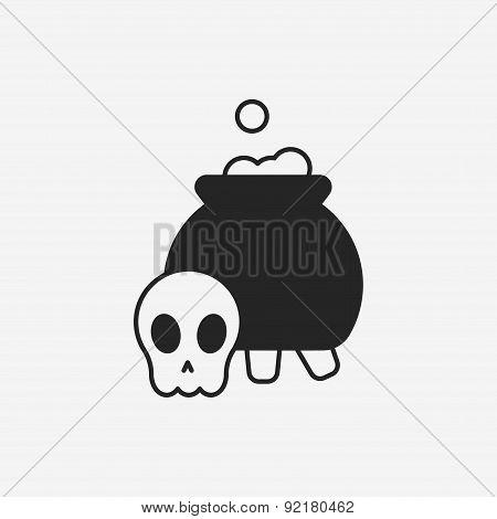 Halloween Poison Icon