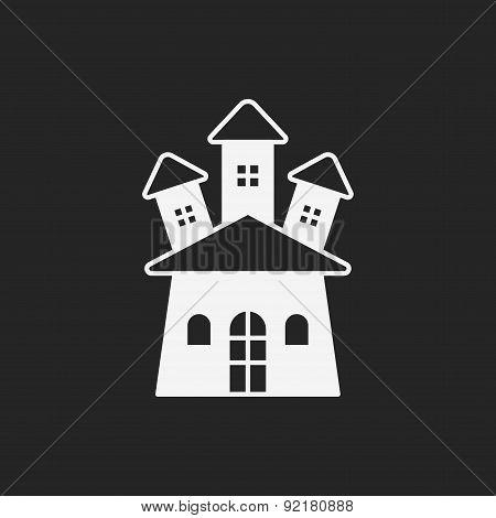 Halloween Castle Icon