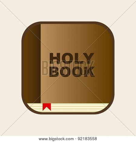 Bible design over white background vector illustration