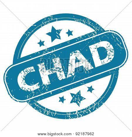 CHAD round stamp