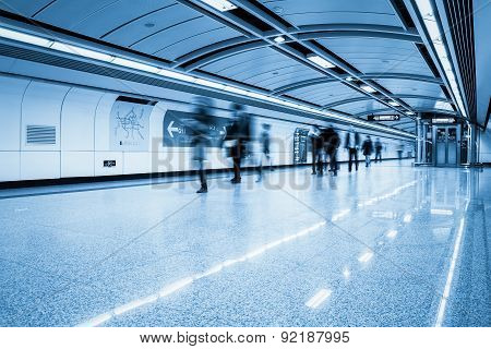 Futuristic Subway Passage