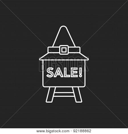 Halloween Sale Icon