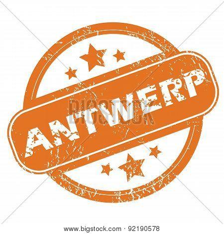 Antwerp round stamp