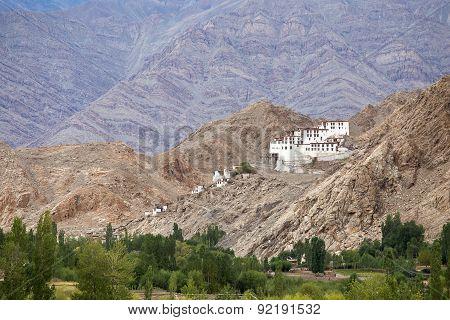 Chemdey Gompa, Buddhist Monastery In Ladakh, Jammu & Kashmir, India