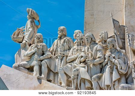 Monument To The Discoveries At Belem Lisbon Portugal