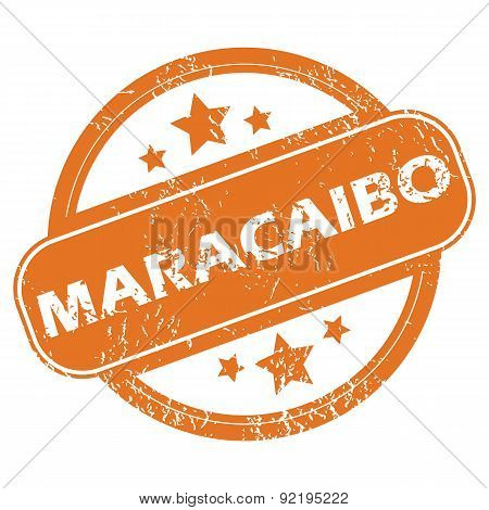 Maracaibo round stamp