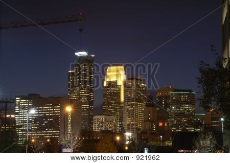 Minneapolis Skyline Dusk