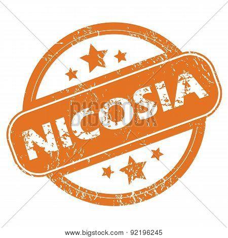 Nicosia round stamp