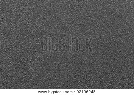 Abstract Texture Fleecy Fabric Of Black Color