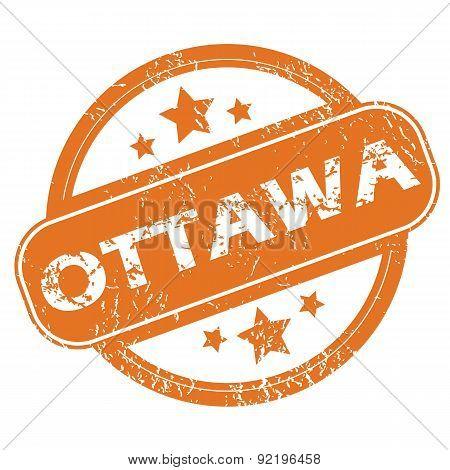 Ottawa round stamp