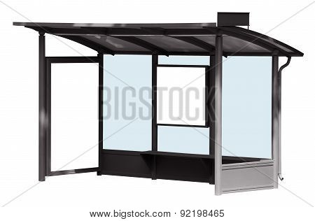 Bus Stop Isolated