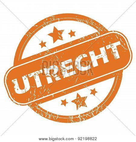 Utrecht round stamp