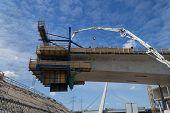 foto of bridges  - Building a bridge - JPG