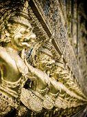 image of garuda  - Grand palace Garuda Wat Phra Kaew Bangkok Thailand - JPG