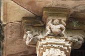 image of khajuraho  - Khajuraho temples and their erotic sculptures - JPG