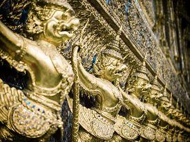 foto of garuda  - Grand palace Garuda Wat Phra Kaew Bangkok Thailand - JPG