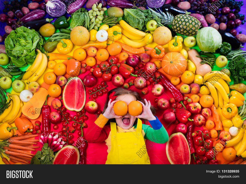 Rainbow Food Healthy