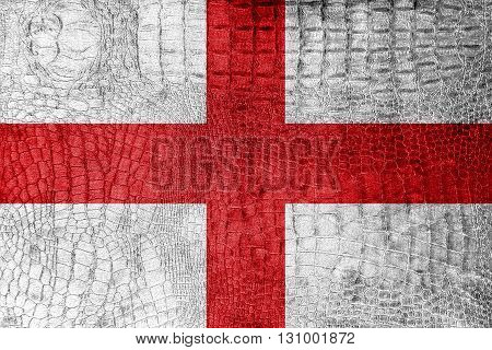 Flag Of Genoa, On A Luxurious, Fashionable Canvas