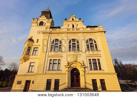 Old City Hall in Ostrava. Ostrava Moravian-Silesian Region Czech Republic.