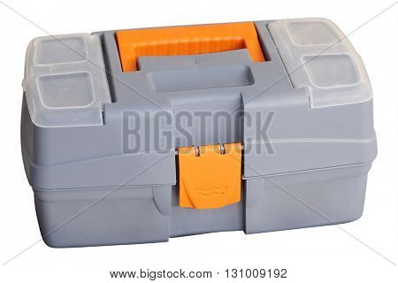 The image of a plastic tool box