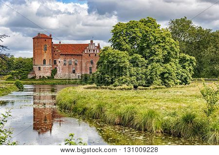 Torups slott is a castle in Svedala Municipality Scania in southern Sweden. It is situated approximately 15 kilometres (9.3 mi) east of Malmo.