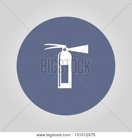 Fire extinguisher. Vector isolated illustrator EPS 10