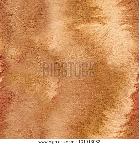 A seamless old paper texture: a sheet of paper toned and painted with coffee and watercolor to look like old parchment