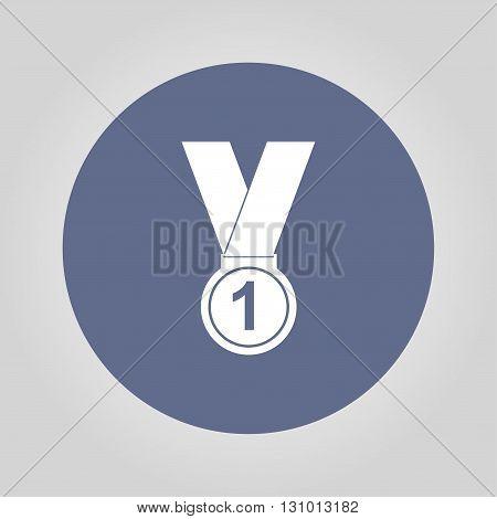 medal icon Modern design flat style icon