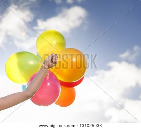 Balloon Playful Outdoors Fun Happiness Concept