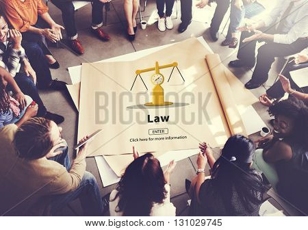 Law Legal Control Court Regulations Control Concept