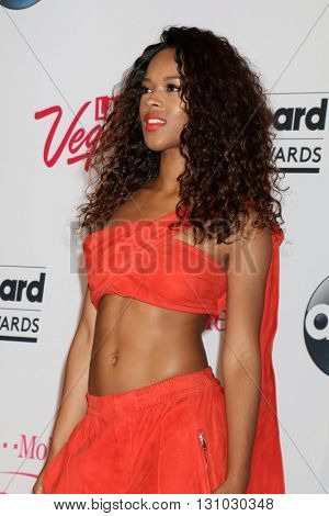 LAS VEGAS - MAY 22:  Serayah McNeill at the Billboard Music Awards 2016 at the T-Mobile Arena on May 22, 2016 in Las Vegas, NV