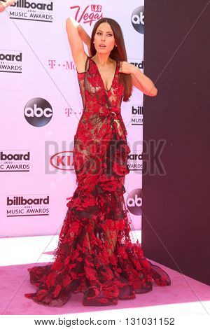 LAS VEGAS - MAY 22:  Kerri Kasem at the Billboard Music Awards 2016 at the T-Mobile Arena on May 22, 2016 in Las Vegas, NV