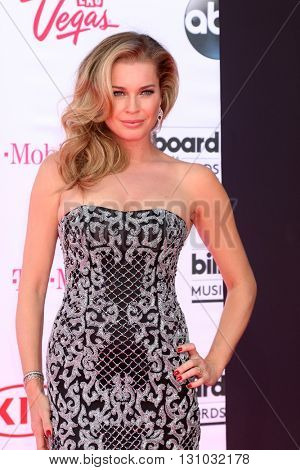 LAS VEGAS - MAY 22:  Rebecca Romijn at the Billboard Music Awards 2016 at the T-Mobile Arena on May 22, 2016 in Las Vegas, NV