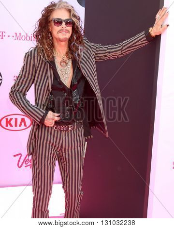 LAS VEGAS - MAY 22:  Steven Tyler at the Billboard Music Awards 2016 at the T-Mobile Arena on May 22, 2016 in Las Vegas, NV